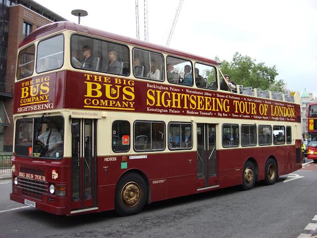 Passeio onibus turistico, Londres