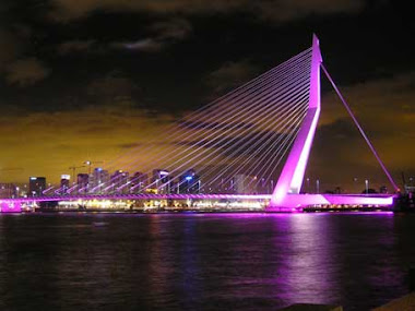 Rotterdam by night