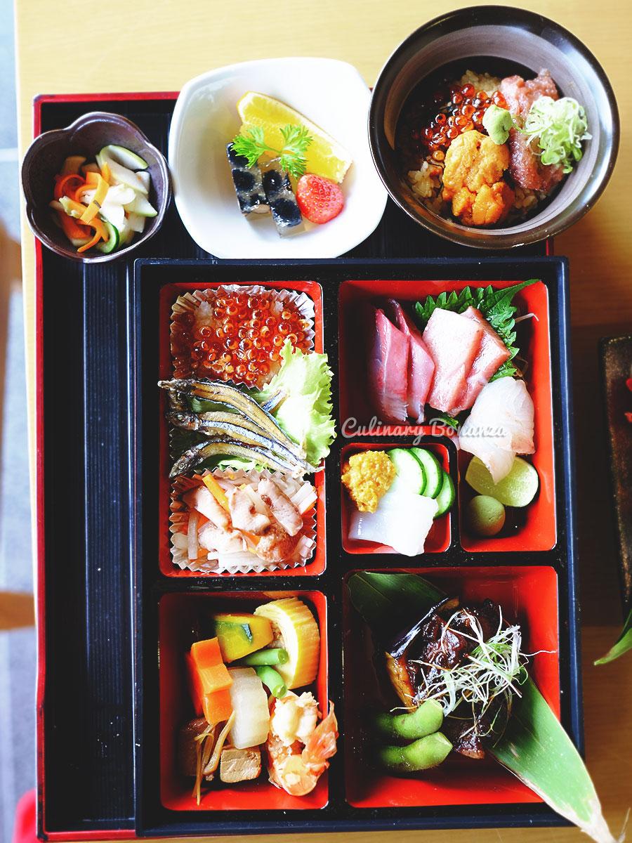 Sashimi Bento Set at Koiki Eatery Senopati (www.culinarybonanza.com)