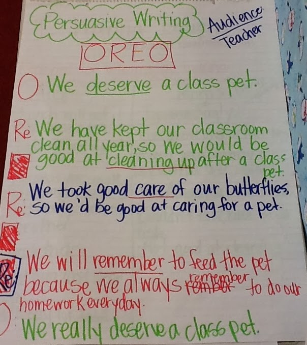 Whos who and whos new persuasive writing part 3 use the oreo planning sheet to assist in writing a letter to the teacher with all of the key points that you want to make pronofoot35fo Choice Image