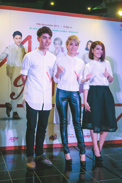 Geraldine Gan, Nicole Lai and Uriah See @ LOVE N MUSIC Concert Press Conference