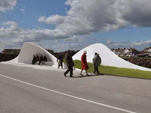 Dự án Acoustic Shells tạiLittlehampton, West Sussex, Anh - Kiến trúc sư Flanagan Lawrence thiết kế (lọt danh sách các Dự án nhỏ)