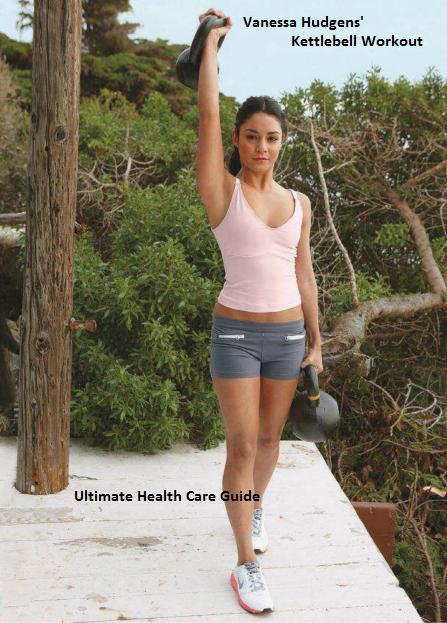 Kettle Bell Vanessa Hudgens' Workout