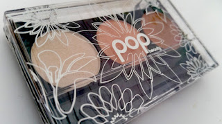 POP Beauty Eyeshadow Trio in Peach Parfait