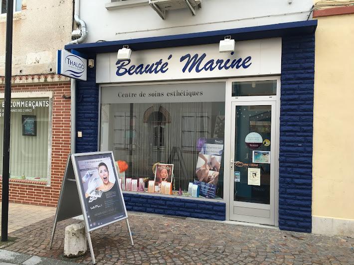 relooking du salon d'esthétique Beauté marine