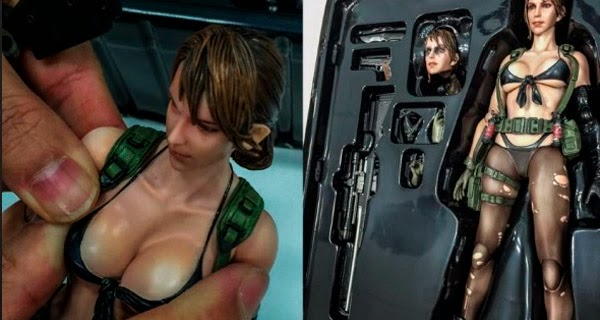 Busty Figure Metal Gear 5 details