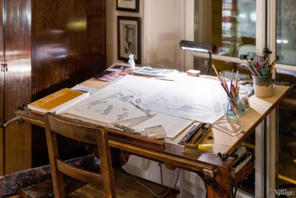 mesa trabajo estudio en parís