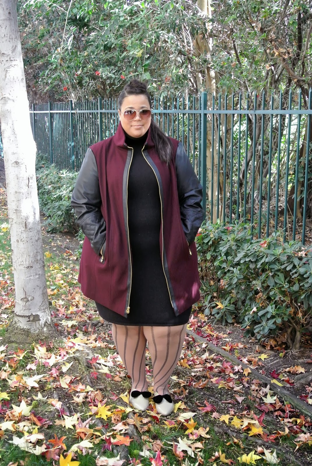 Plus Size blog, plus size coats, Michael Kors