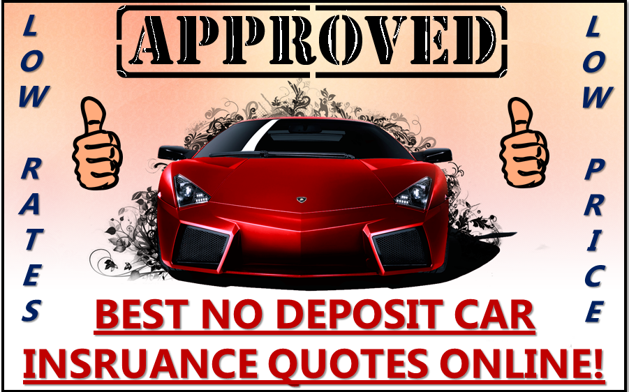 No Deposit Car Insurance Online