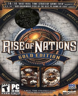 Rise of Nations: Gold Edition PC Box