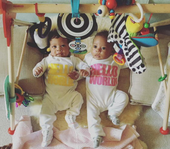 See Photos Of Mikel Obi's lovely twins