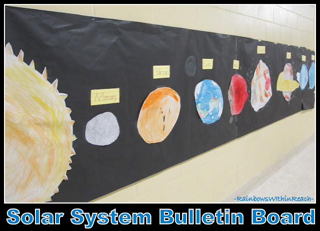photo of: Solar System Bulletin Board (Planets) from Bulletin Board RoundUP via RainbowsWithinReach
