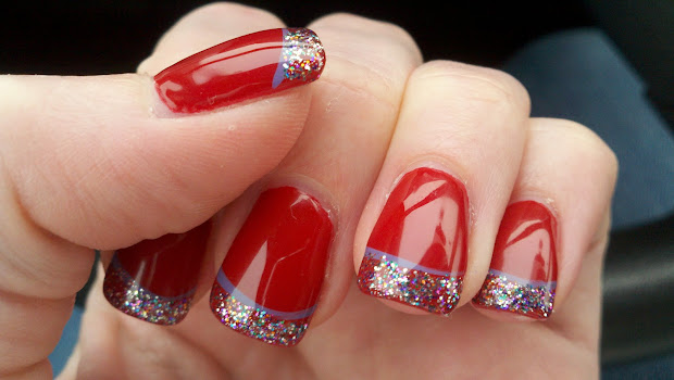 red nails - beautiful nail