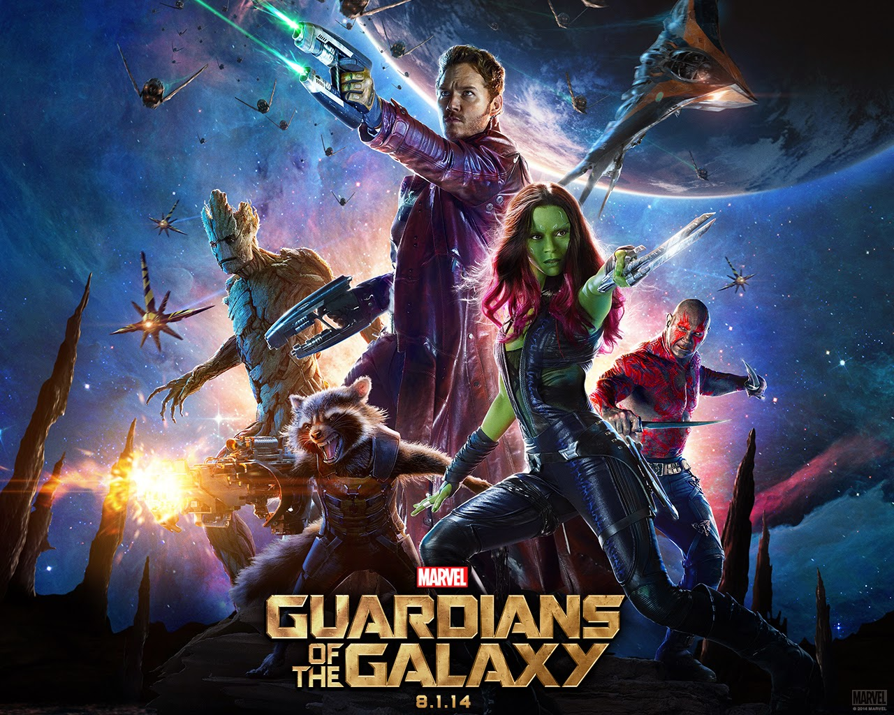 Four Word Movie Review: Marvel's Guardians of the Galaxy | iNeed a Playdate