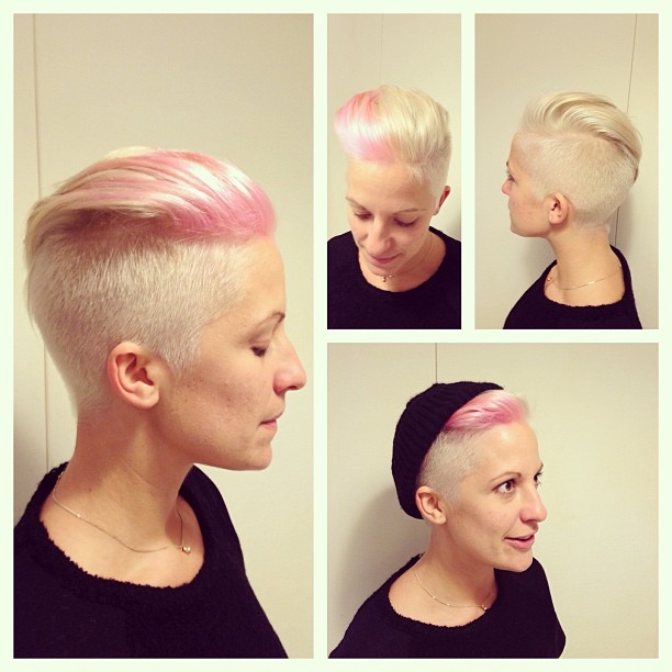 Side Buzzed Pixie Haircuts