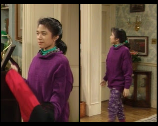 Cosby Show Huxtable fashion blog 80s sitcom Cindy Ana Money