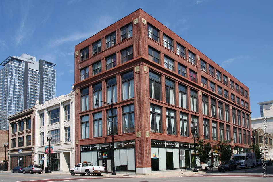Chicago Architecture Cityscape Motor Row Historic