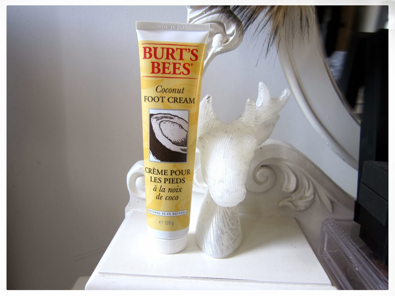 Burt's Bees Coconut Foot Cream Review