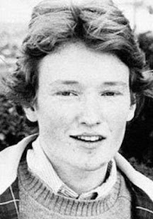 A young Conan O'Brien