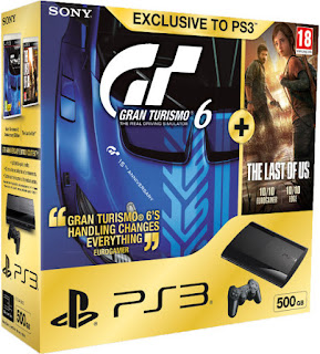 Sony Playstation 3: includes Gran Turismo 6 and The Last of Us Games Consoles