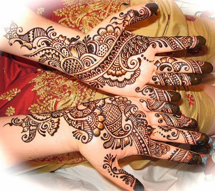Mehndi Designs New Simple : Hair style simple mehndi designs pictures