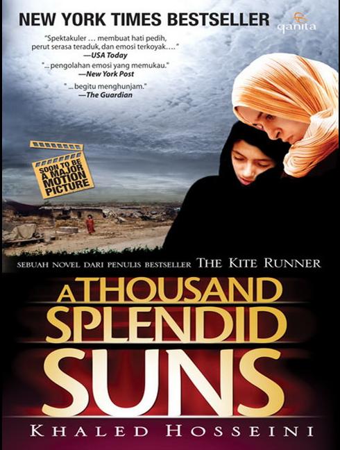 Download Novel Gratis A Thousand Splendid Suns – Khaled Hosseini