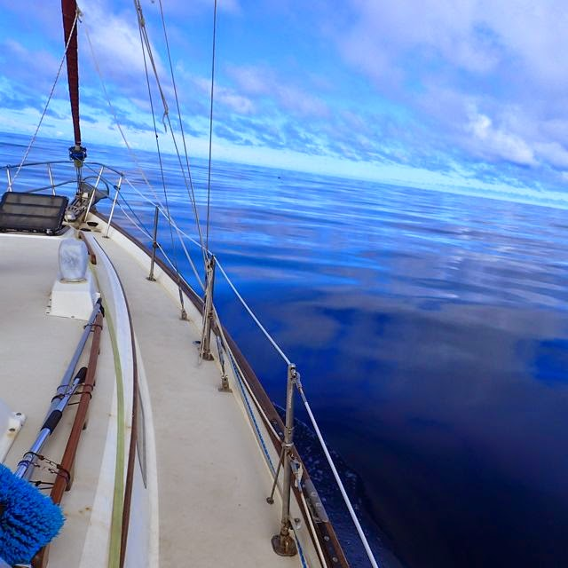 passage making galapagos, Marquesas French Polynesia, pearson 365 sailboat
