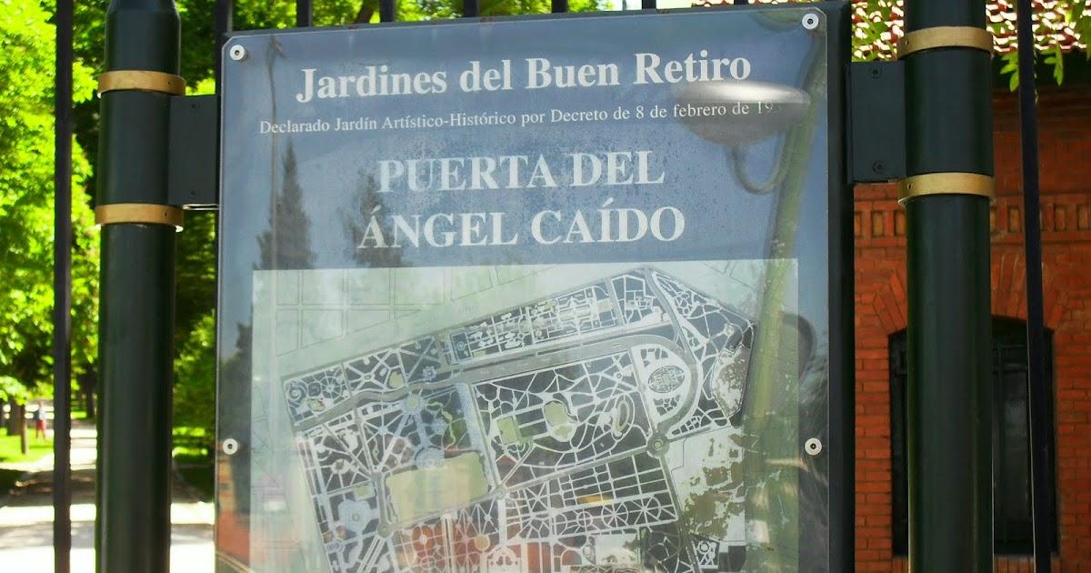 Arte y jardiner a jard n del retiro en madrid for Precio entrada jardin botanico madrid