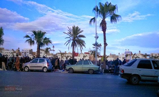 ساحة الشبيبة و الرياضة التي دشنت من طرف جلالة الملك محمد السادس 2010 - 2011