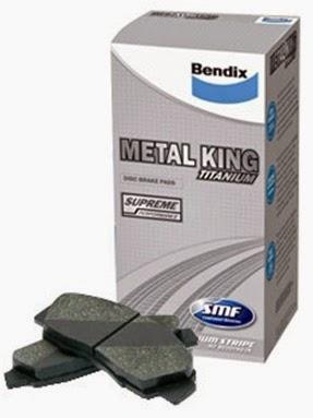 Bendix Metal King MKT  untuk Toyota Avanza, Rush 2005-2013