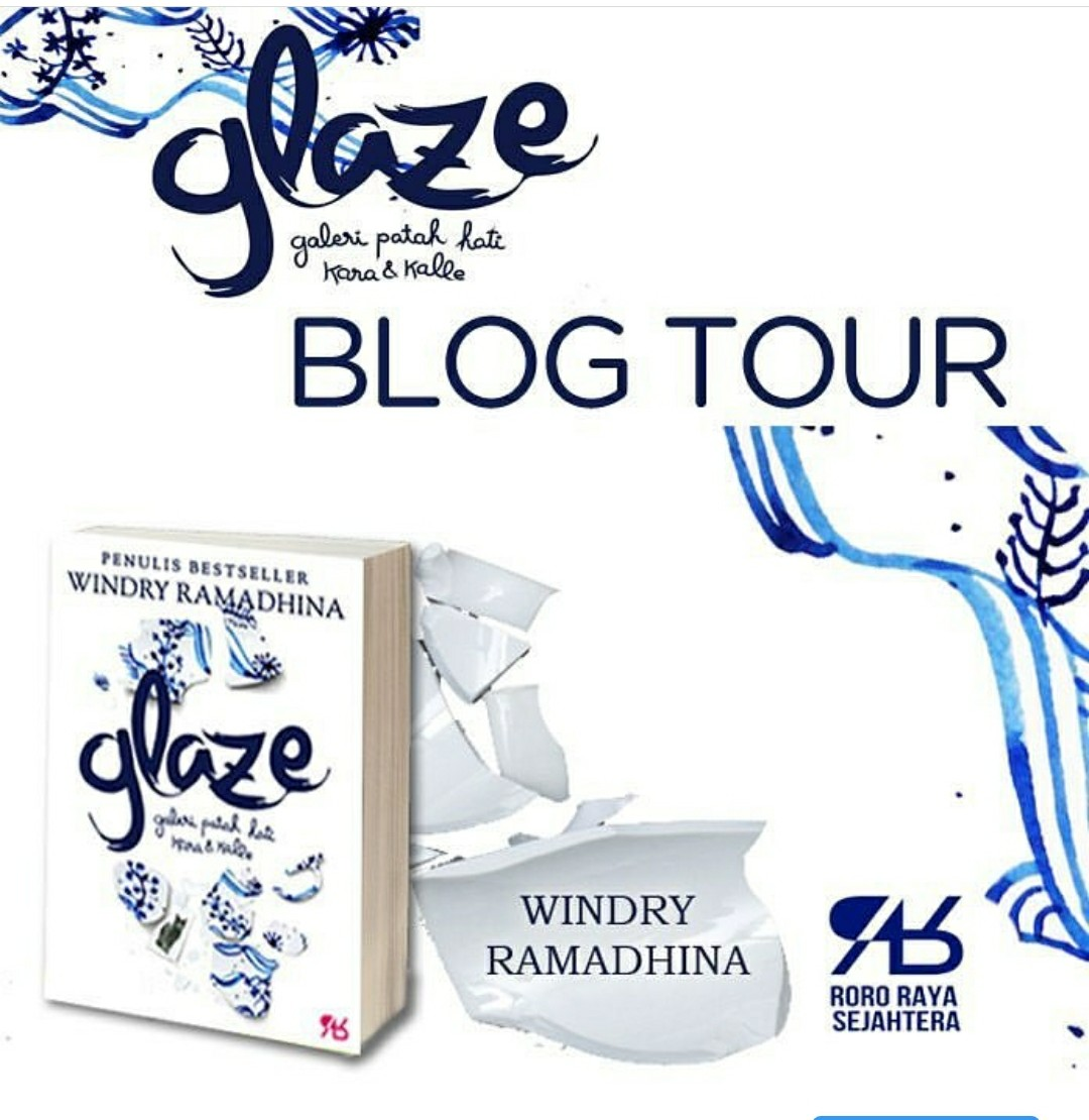 BE READY: BLOGTOUR GLAZE - WINDRY R