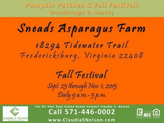 Pumpkin Patches, Fall Festivals in Woodbridge VA & Nearby Sneads Farm Fredericksburg VA