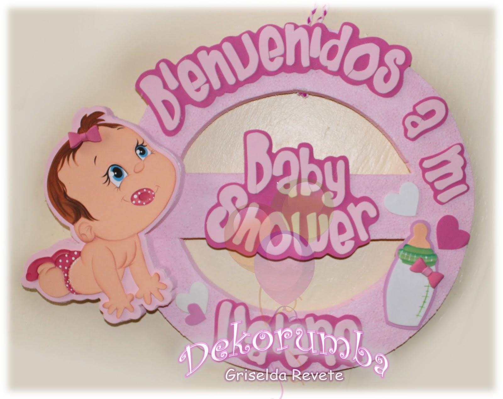 dekorumba bienvenidos a mi baby shower