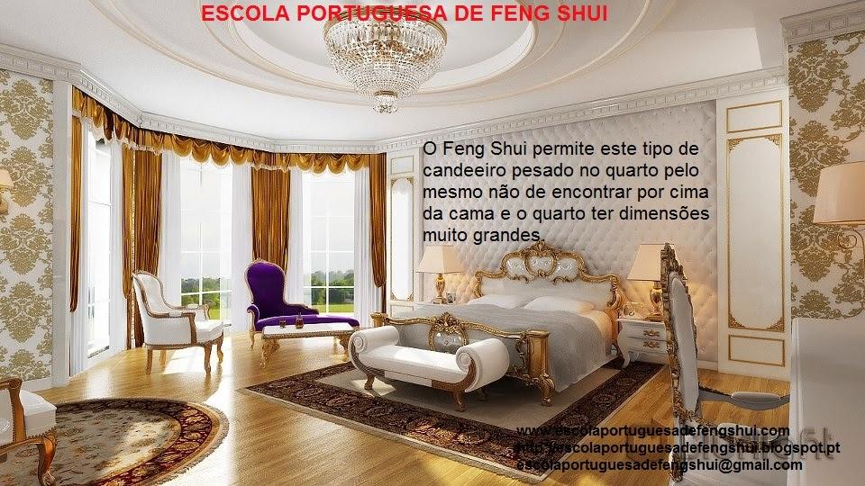 Feng Shui Escola Portuguesa CANDEEIROS DE TETO NO QUARTO ~ Verde No Quarto Feng Shui