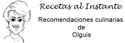 RECETAS AL INSTANTE