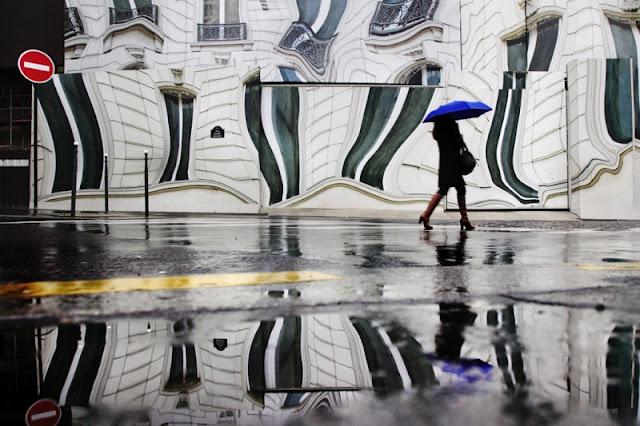 Paris bajo la lluvia