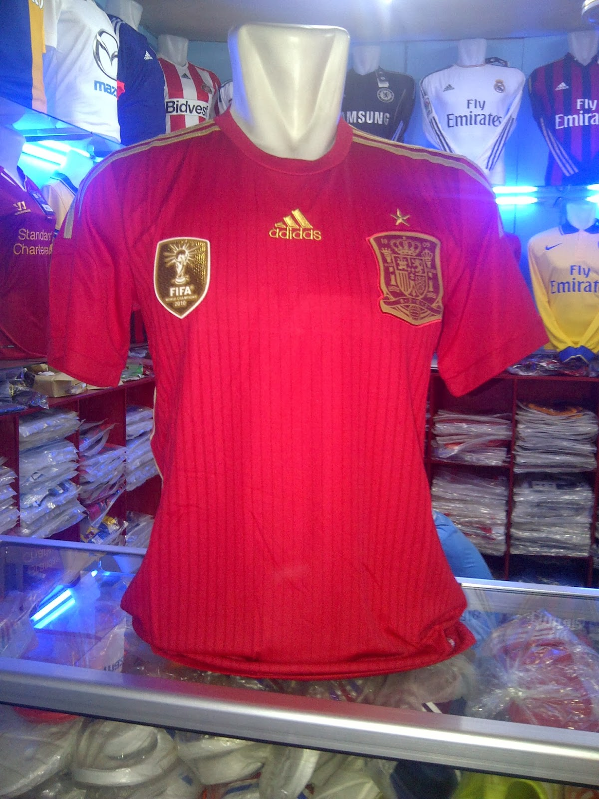 Kaos Jersey Bola Spain 2014 Kaos Jersey Bola | Auto Design ...