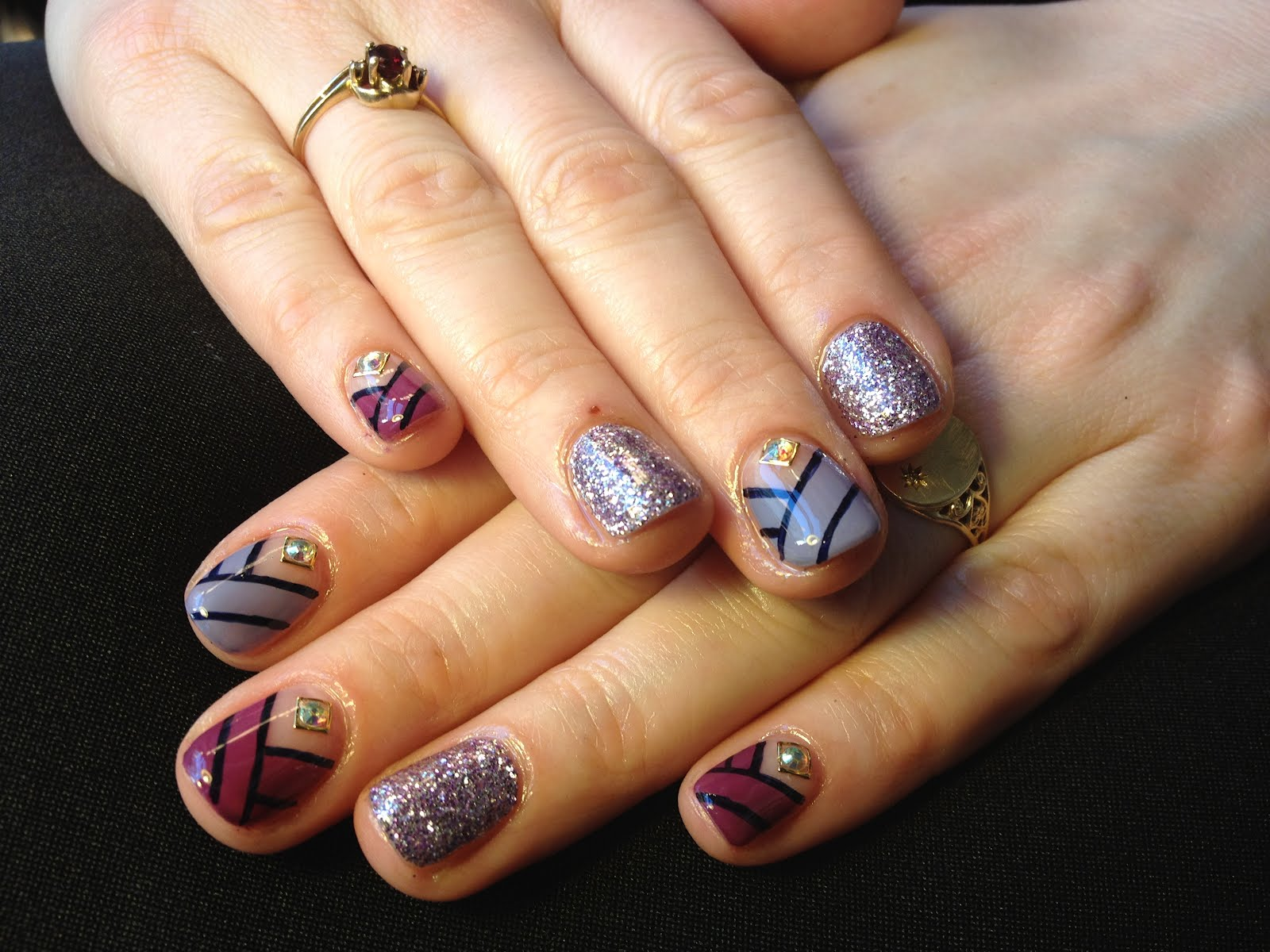 nails, nail art, nail polish, gel nails, Ran Kowatari, mani, manicure ...