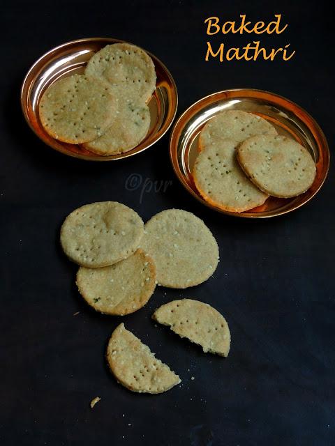 Baked Mathri, Mathri, Sesame Mathri
