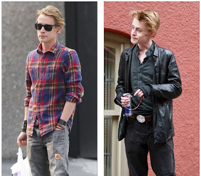 Macaulay Culkin before and after looking sick and healthy