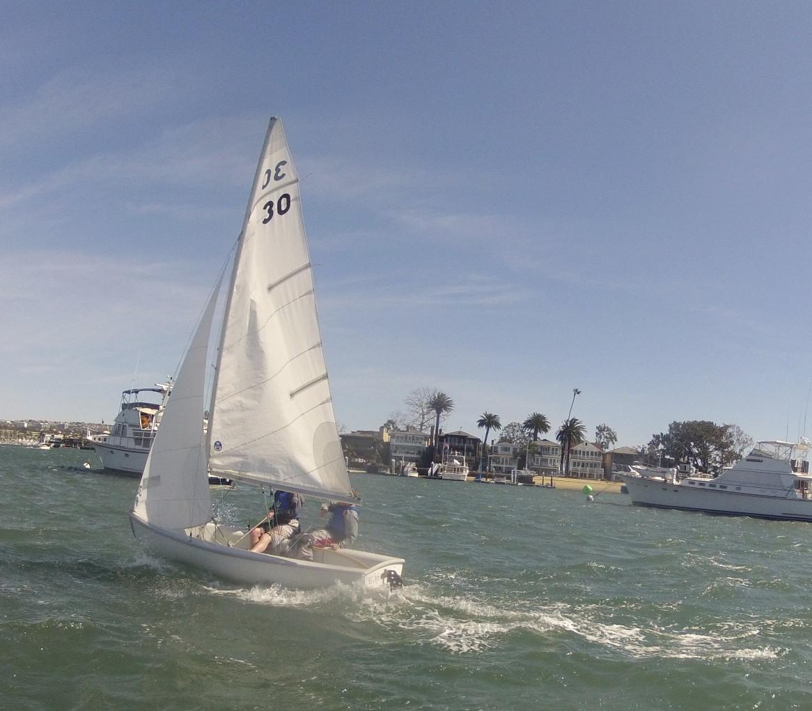UCSD Sailing Team Sails Fast