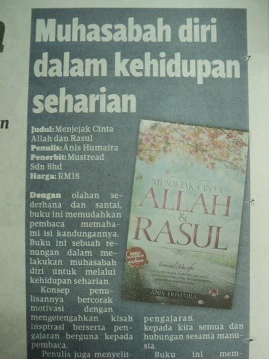 Ulasan buku di Harian Metro