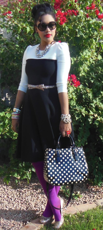 Dress Kate Spade // Tights