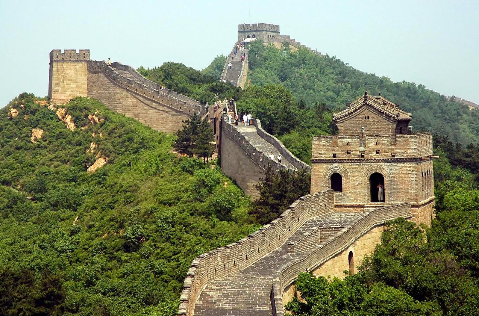 عجائب الدنيا السبع الجديدة - سور الصين العظيم