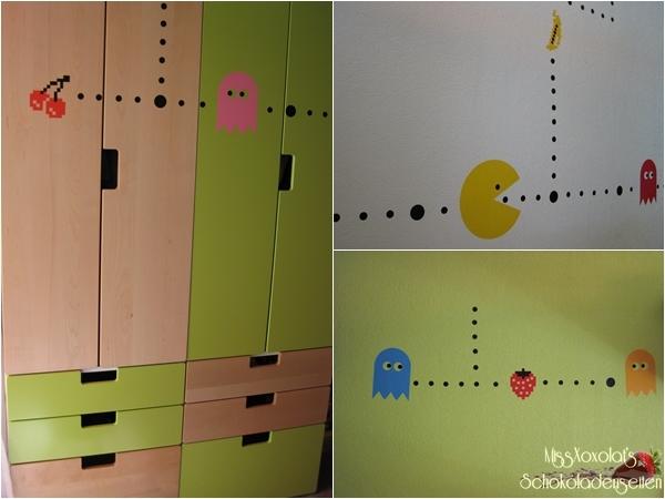 Pac-Man frisst sich durch's Kinderzimmer!