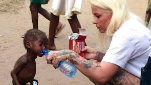 """16.02.2016 - Hope, il bimbo """"stregone"""" abbandonato in Nigeria salvato dalla cooperante danese"""
