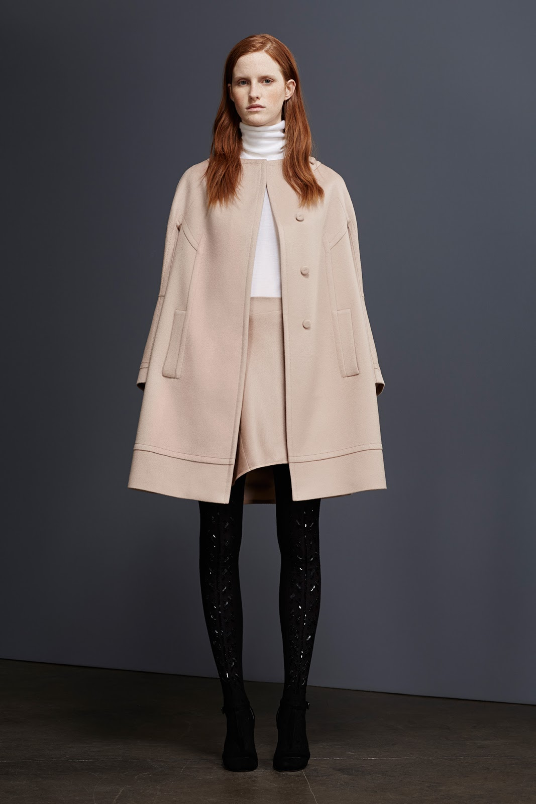 via fashioned by love | Pringle of Scotland Pre-Fall 2015 | camel trends | 2015