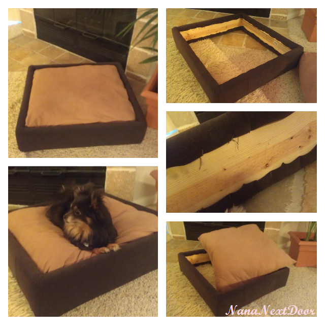 Nana Next Door: DIY Platform Dog Bed