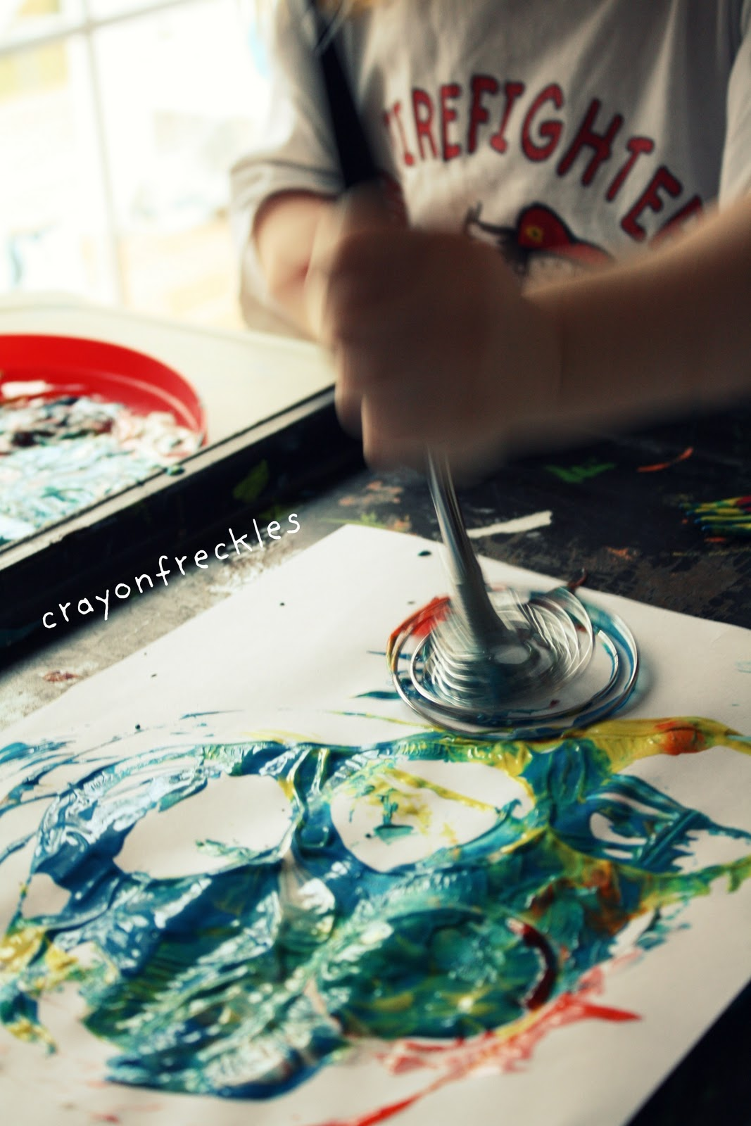 Kitchen utensils drawing for kids - Painting With A Whisk