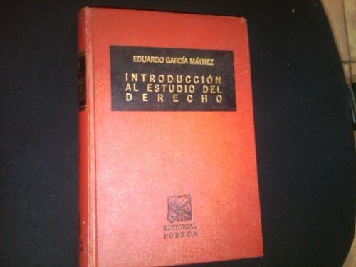 introduccion al estudio del derecho garcia maynez descargar
